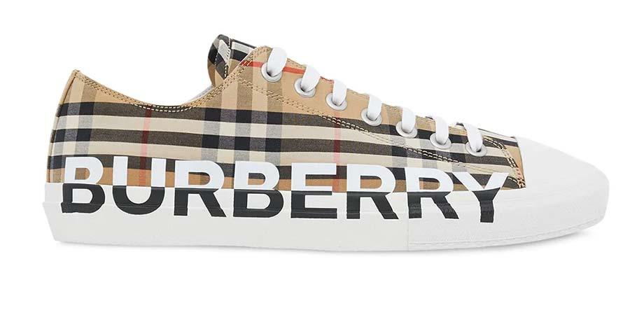 Zapatillas bajas a cuadros Vintage Checks Burberry