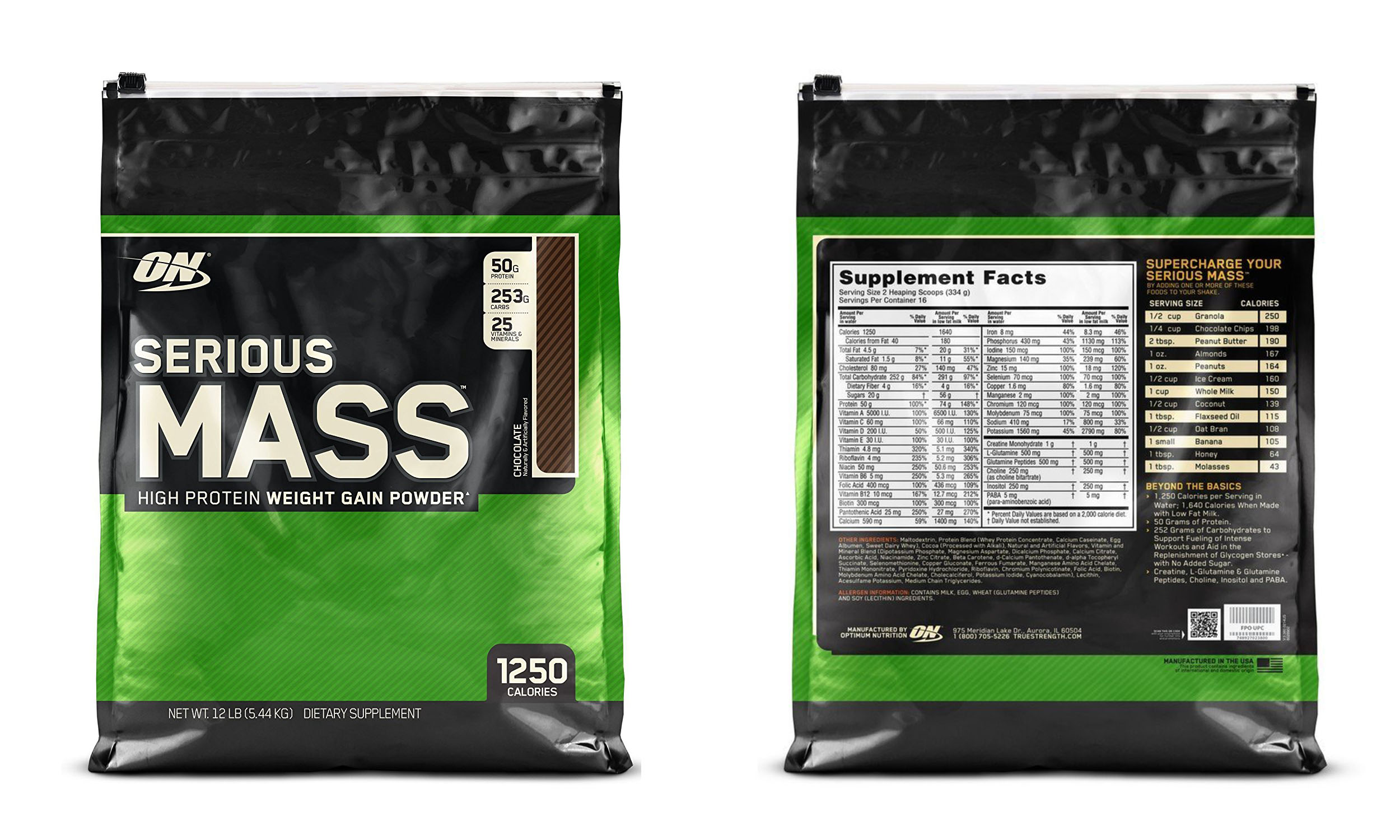 Is Serious Mass Gainer Protein Effective