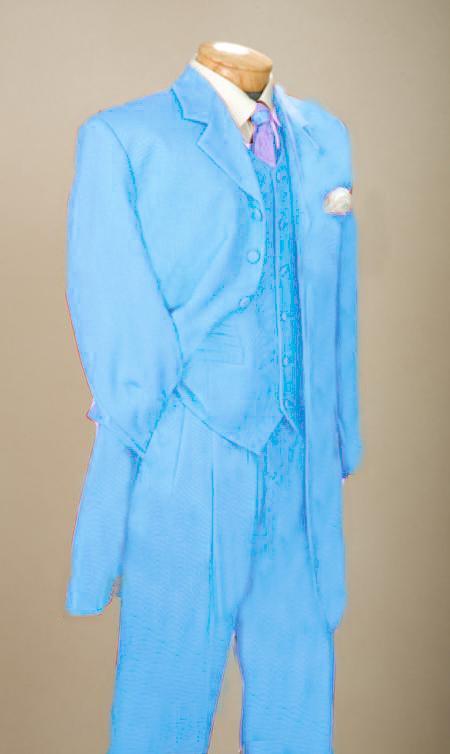 Mens Light Blue Denim Jacket