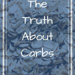 Picture of rolled oats with text overlay - The truth about carbs