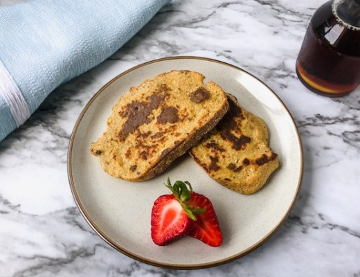 vegan french toast feature image