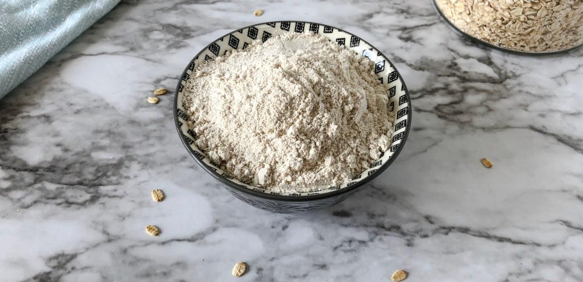 oat flour feature image