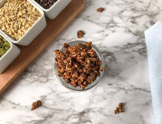 chocolate granola feature
