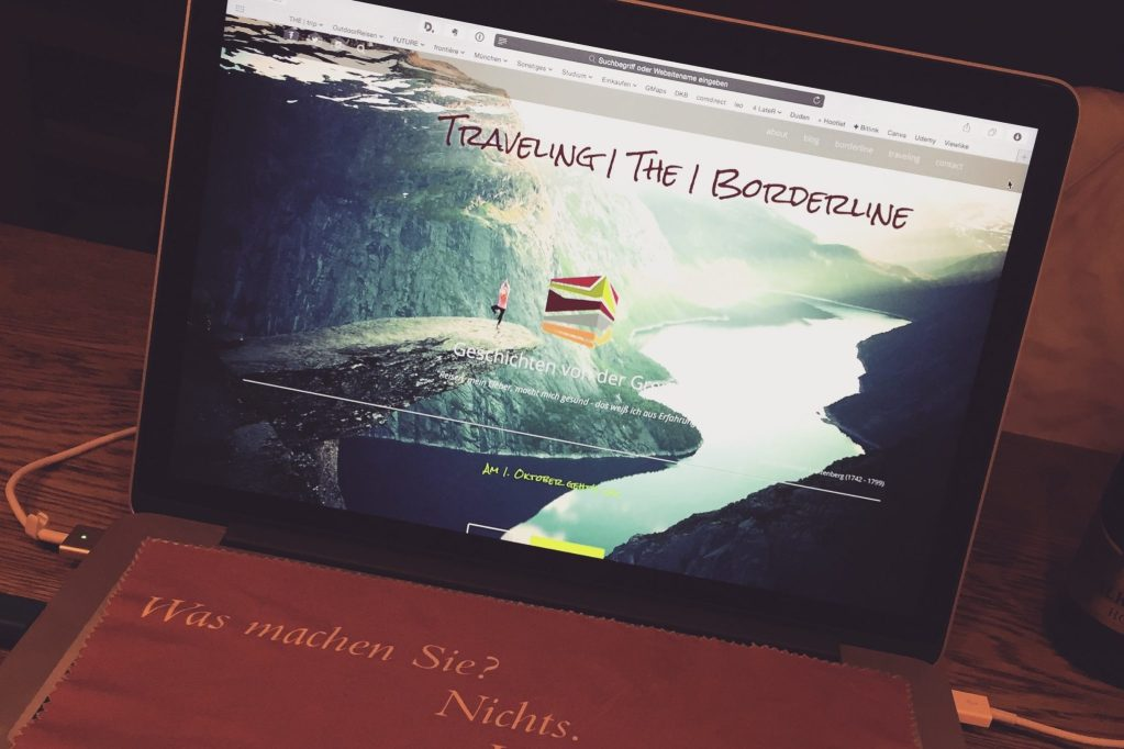 Die Geburtsstunde von Traveling the Borderline