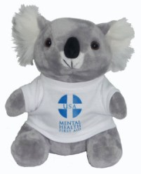 ALGEE, the Mental Health First Aid mascot