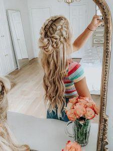 peinados-trenza-cabello-suelto