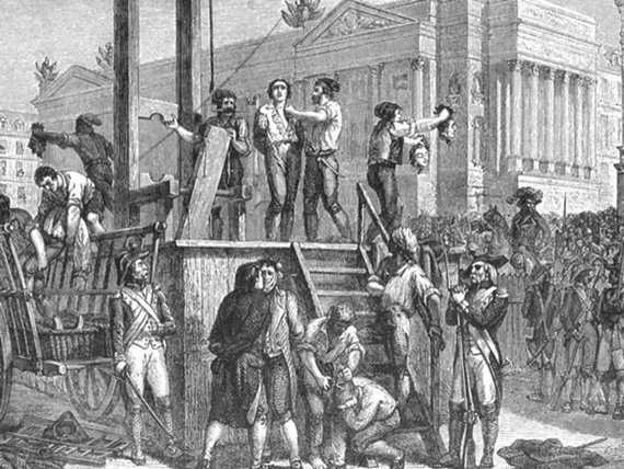 Execution of Robespierre 1600 1200