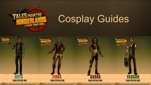 Tales from the Borderlands Cosplay Guides