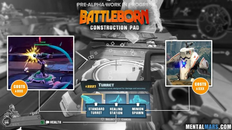 Battleborn Construction Pad