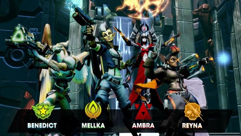 Four new Battleborn revealed at Gamescom
