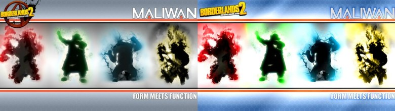 Maliwan Wallpaper - Form Meets Function Remastered - Borderlands 2
