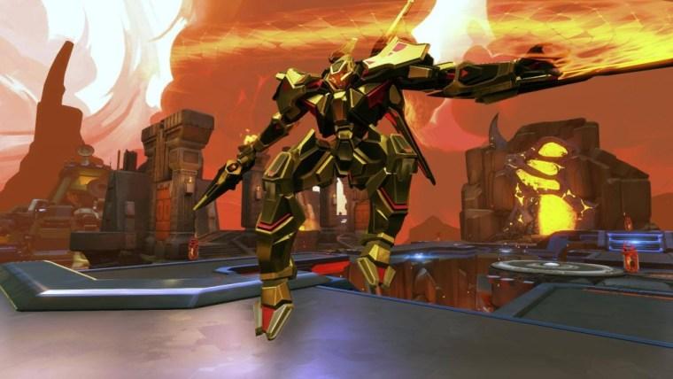 Caldarius Gold Skin - Battleborn Shift Code