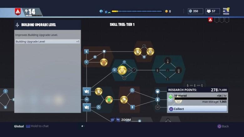 Building Upgrade Level - Fortnite