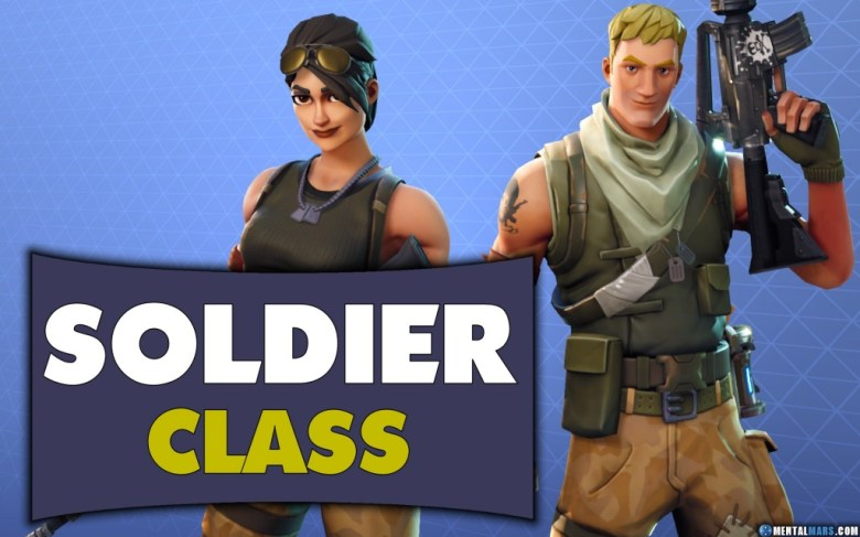 Fortnite Soldier Class