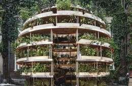 construir jardin sostenible