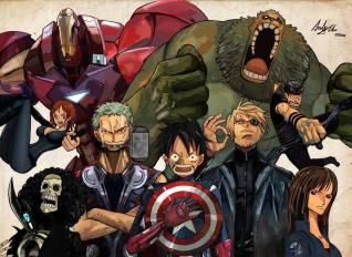 One Piece - Avengers