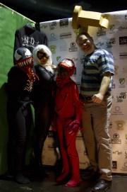 Fantastica famiglia di cosplayers