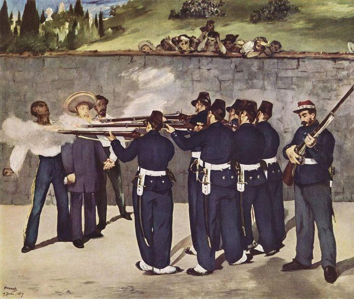 l'esecuzione di Massimiliano I