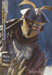 Un potente soldato del Khanato Dorato