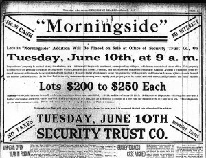 Morningside Ad