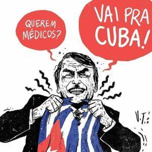 As mentiras de Bolsonaro sobre os médicos cubanos