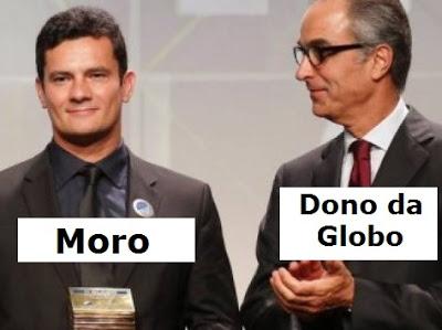 Sergio Moro teria vazado informações para o Jornal Nacional