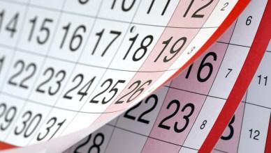 feriados calendarios