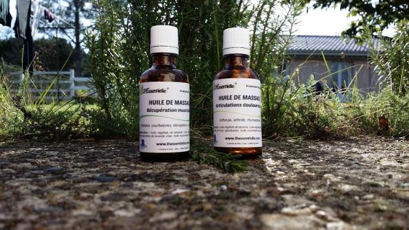 huiles essentielles récupération musculaire