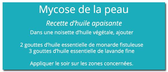 Recette mycose peau - 580 x 250
