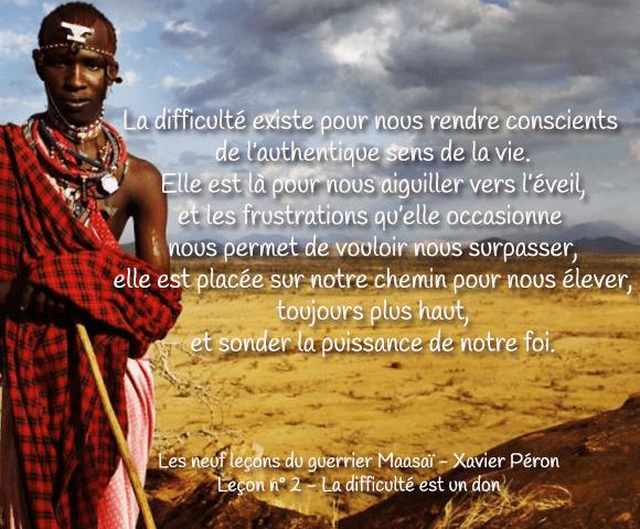 lecture Lecon Maasai - 580 x 480