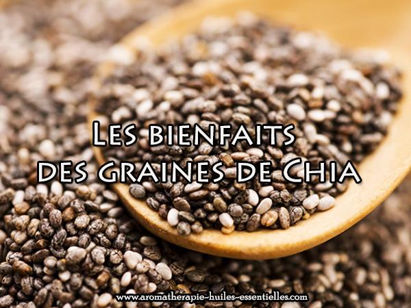 Les bienfaits des graines de chia - 600 x 480
