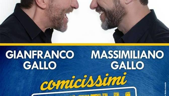 """""""Il pubblico ha sempre ragione"""": i comicissimi fratelli Gallo conquistano il Magic Vision di Casalnuovo"""