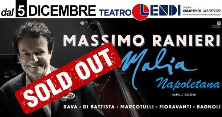 "Massimo Ranieri incanta il Teatro Lendi con la sua ""Malia napoletana"""