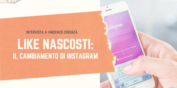 Instagram nasconde i like cosa cambia