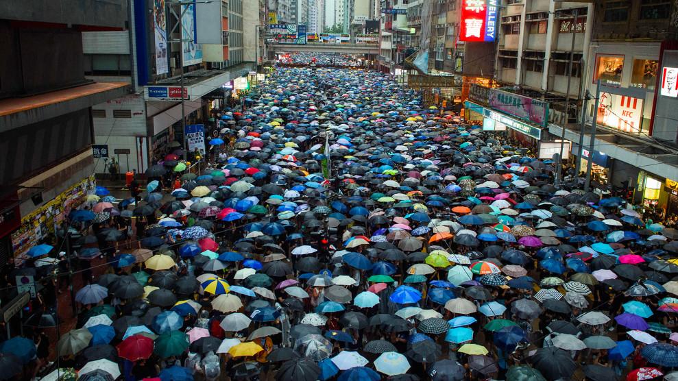 Aprite gli ombrelli per la libertà