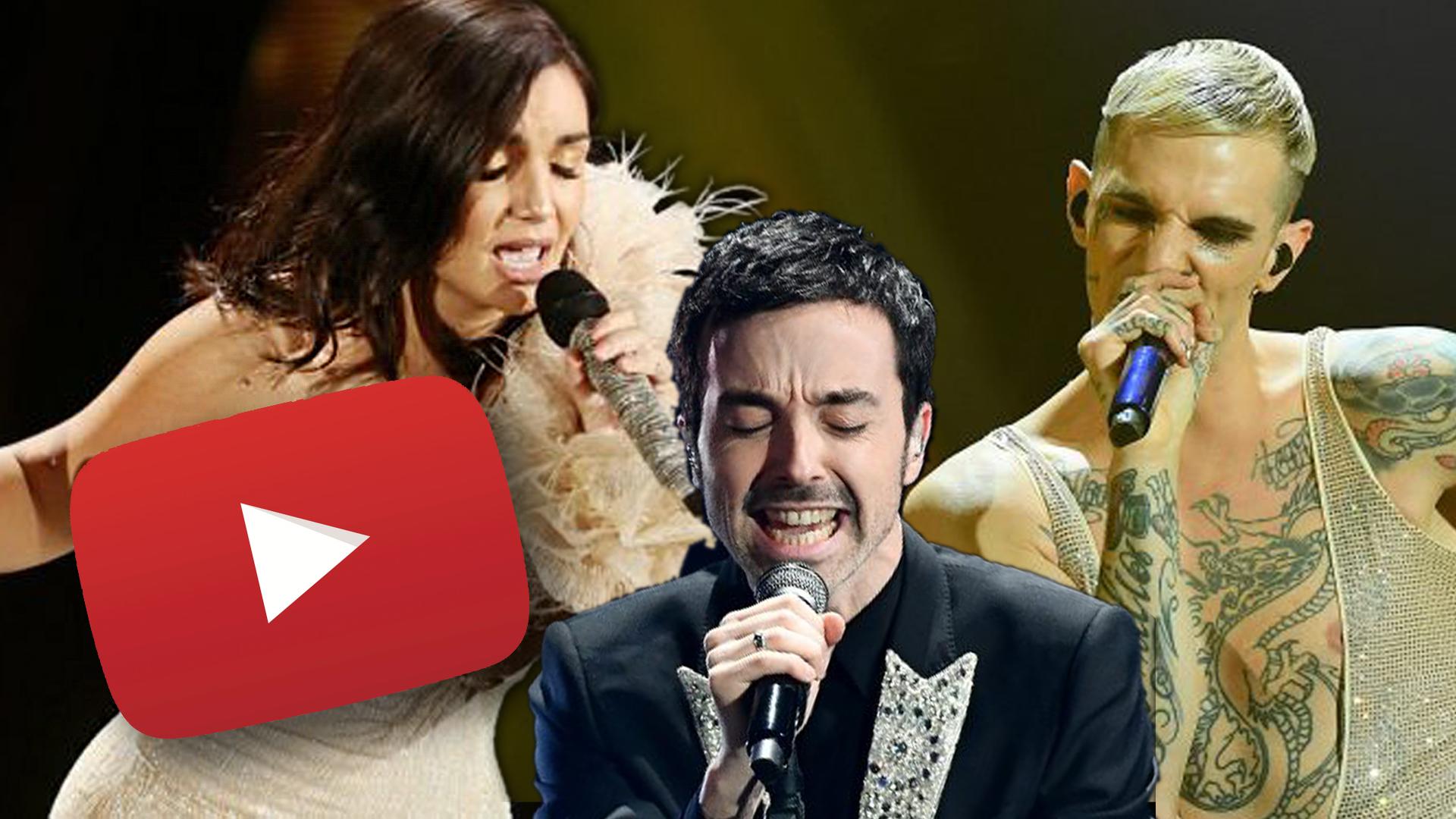 I dieci migliori videoclip di Sanremo