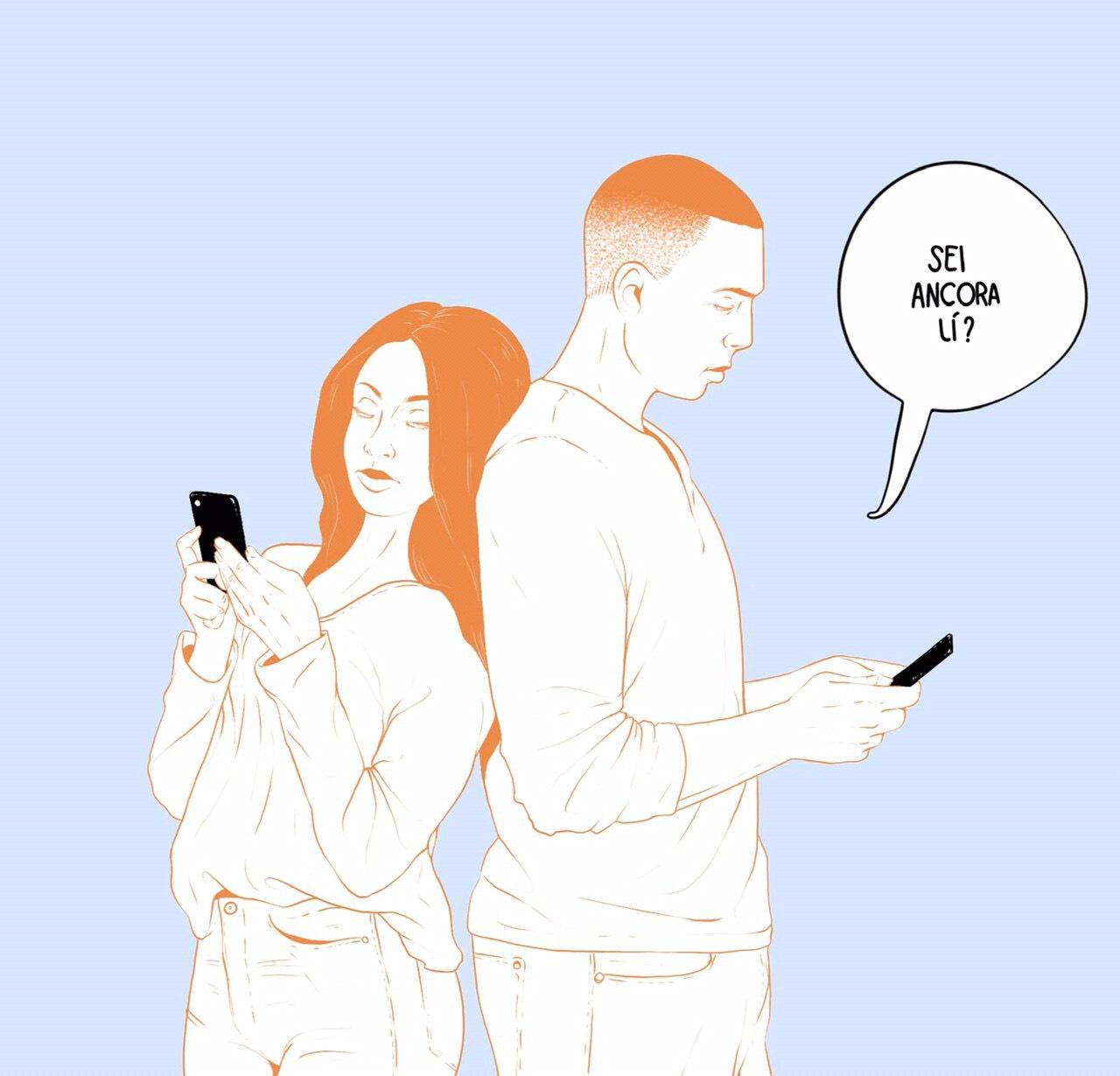 Parlarne tra amici, o come il texting può distorcere le relazioni e l'immagine che gli altri hanno di te.