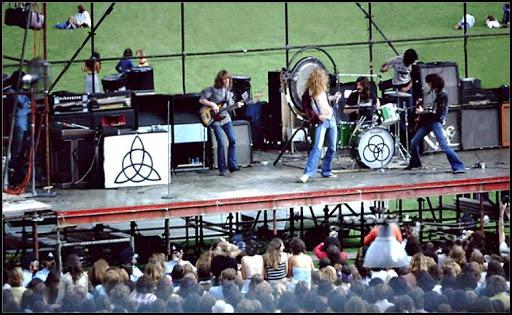 I Led Zeppelin e l'Australia: breve storia di un tour da dimenticare