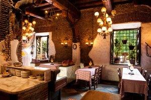 La sala principale de La Taverna