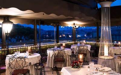Ristorante Roof Garden Hotel Forum