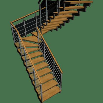 Menuiserie Philippe ROUGIE - escalier