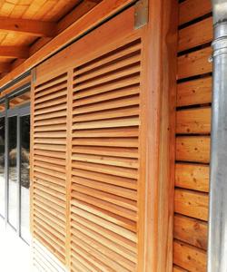 Persienne Volet Provencal En Bois Fabriques Par Notre Menuisier Ebeniste
