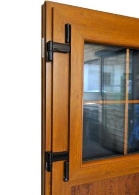 porte d entree campagnarde pvc chene ht 205 x lg 90cm