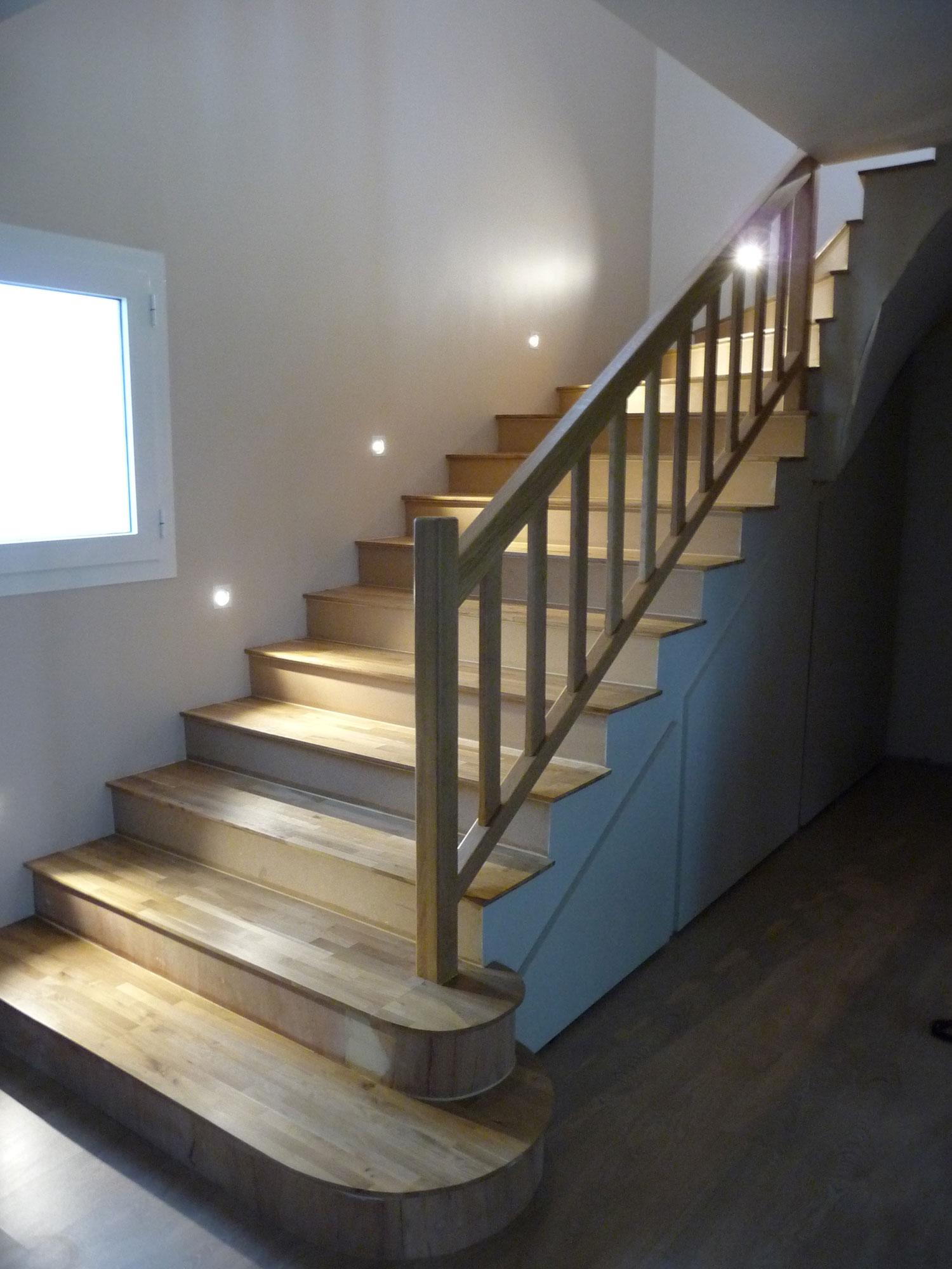 Habillage Escaliers Menuisier Bordeaux Cdrm