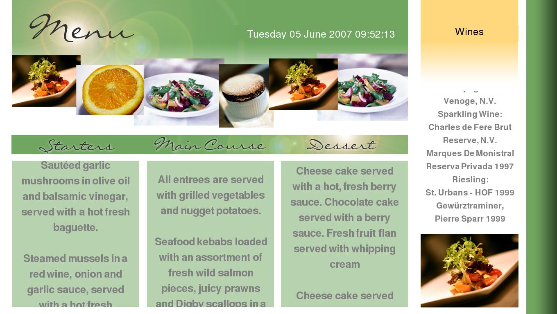 Restaurants Menu Templates restaurant menu template 50 best – Restaurant Menu Templates