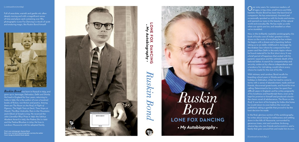 Lone Fox Dancing-Autobiography by Ruskin Bond
