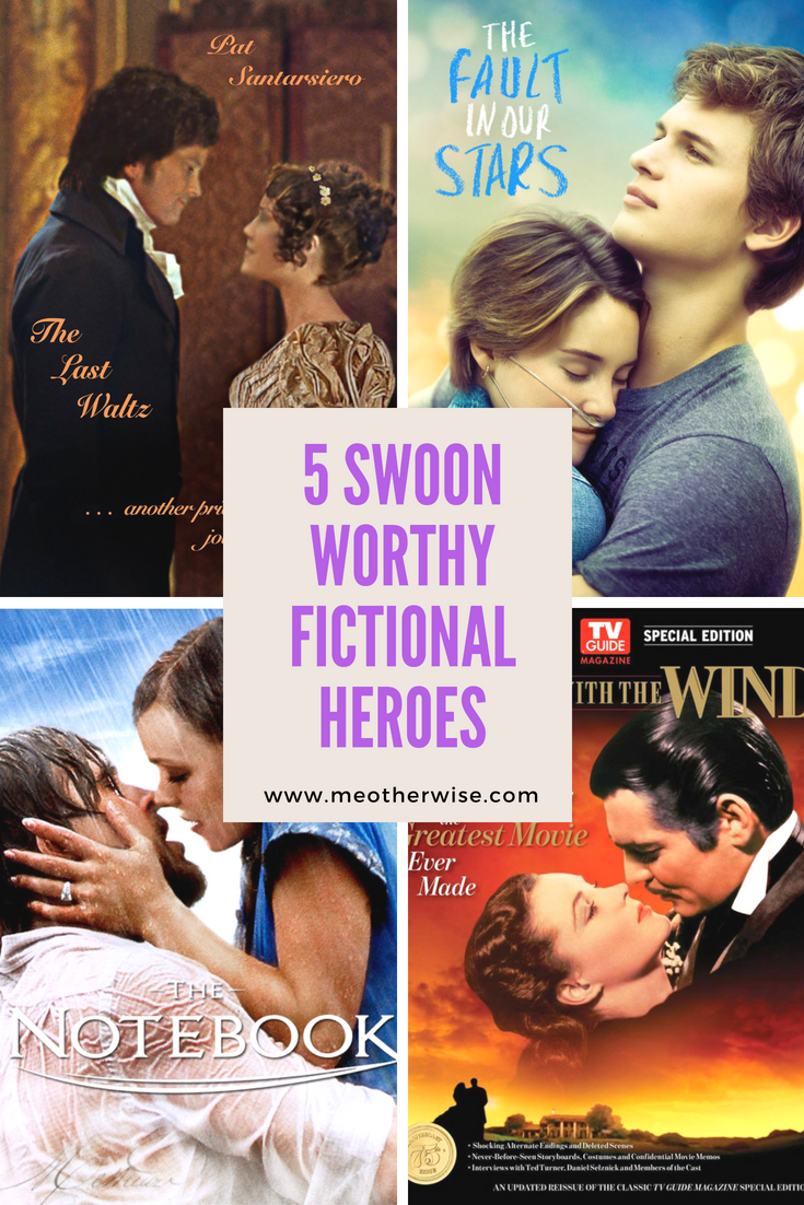 Five Swoon Worthy Fictional Heroes