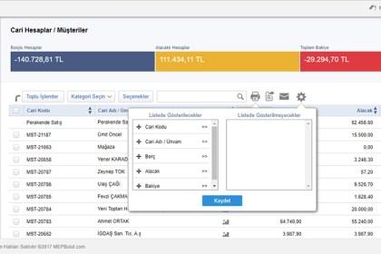 MEPBulut Versiyon: V3.9.0 Yayınlandı.