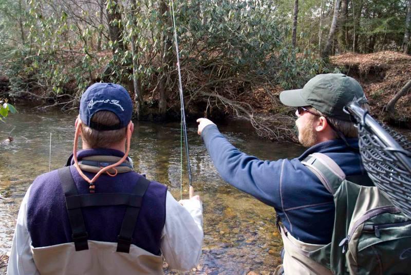 Para qué sirve un guía de pesca si yo se pescar