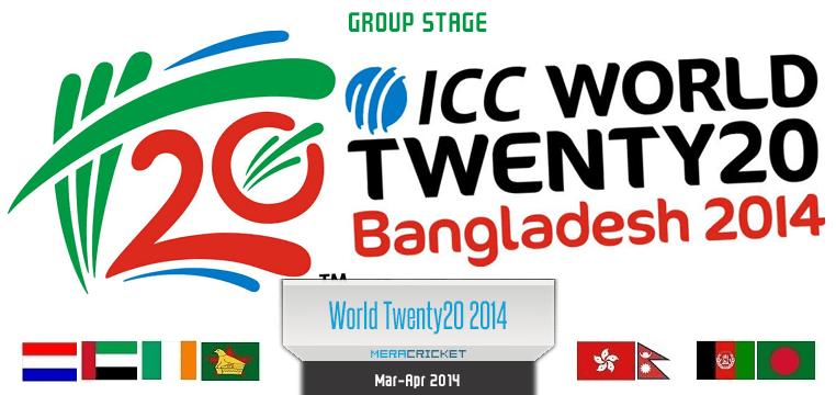 ICC World Twenty20 2014 Group Stage